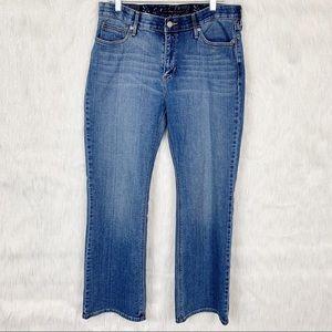Levi's perfect waist 525 bootcut jeans-14